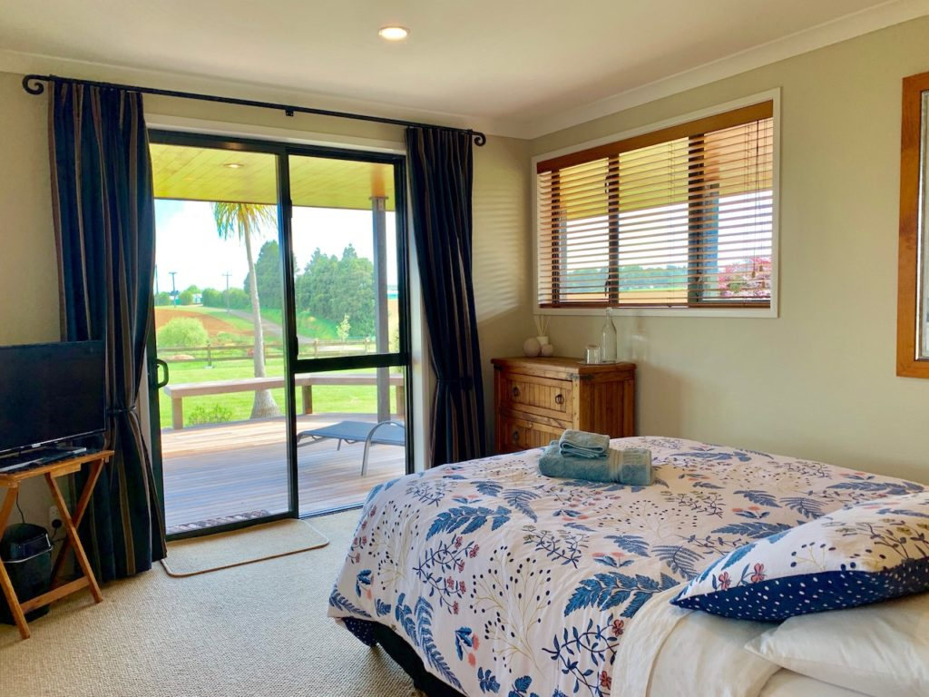 Tui Wing accomodation bedroom view