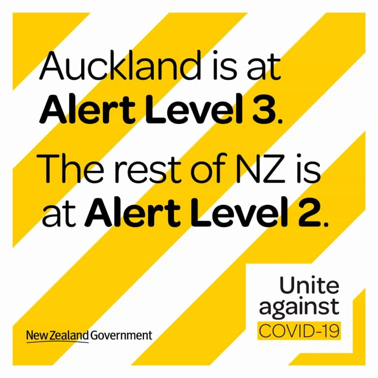Auckland accommodation covid level 3