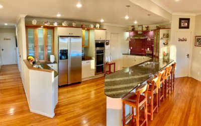 Shared modern and fully equipped kitchen
